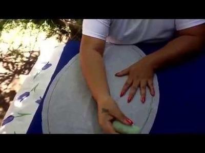 Como cortar un juego de baño paso a paso con cony