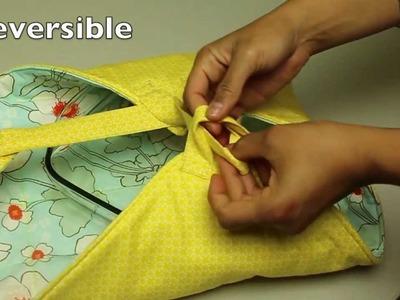 Como coser un Cargador De Cazuela o Plato- Costura y quilting
