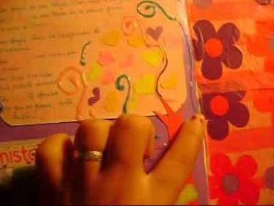 Como decorar un album de amigas .  respuesta a CREACIONES IZZY♥