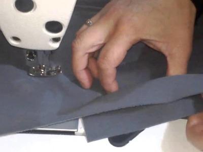 Como hacer un bolsillo ojal