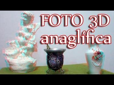 Como hacer una foto 3d anaglífica