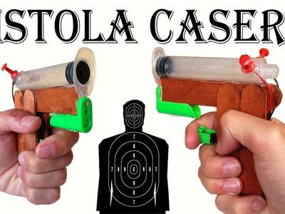 Como Hacer una Pistola con un Encendedor y una Jeringa