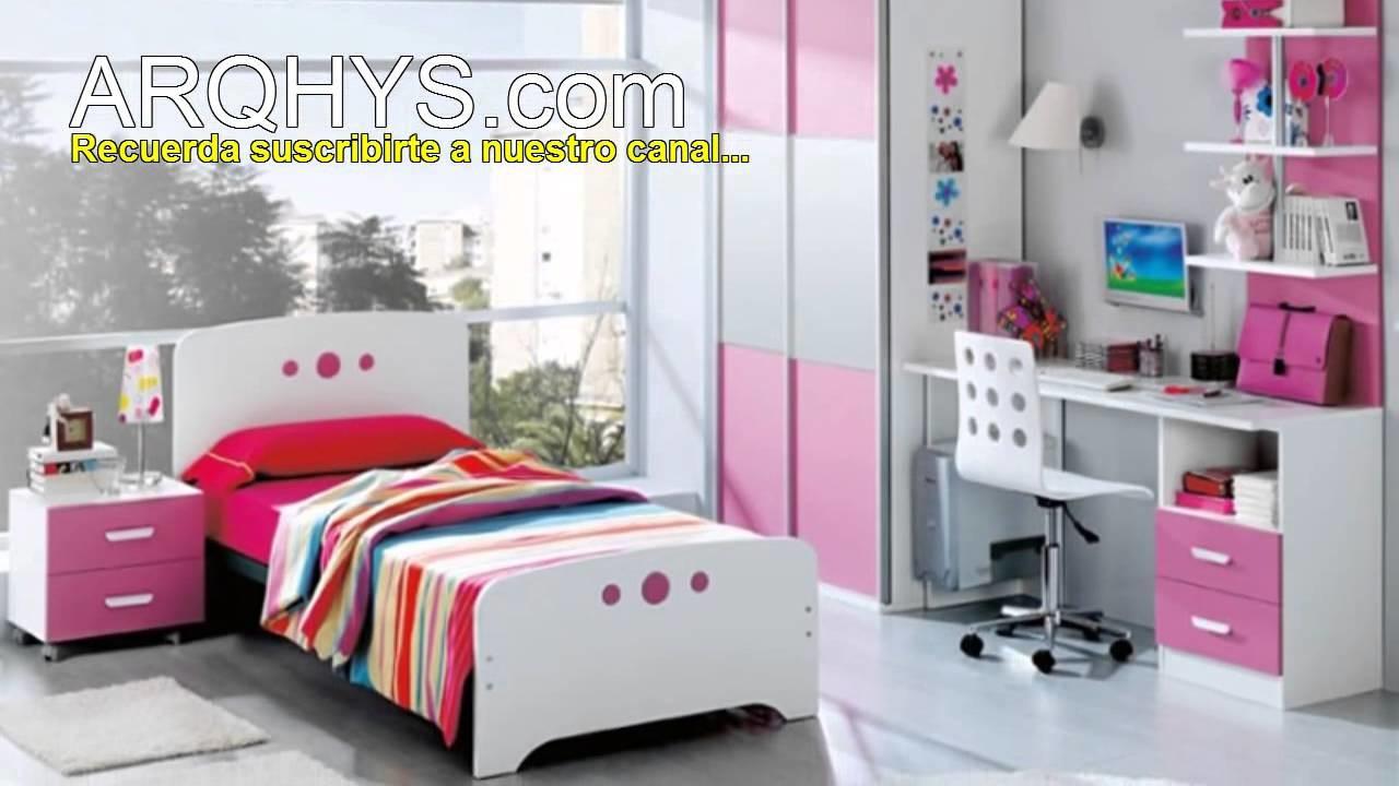 Decoración de dormitorios para niñas entre 11 y 13 años. Cuartos para chicas