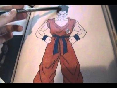 Dibujos personales dragonball entrega 3 + especial algunos personajes battle of gods