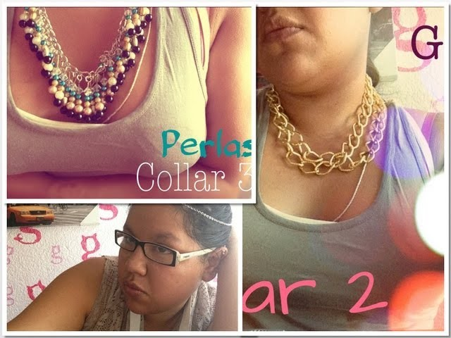 DIY Collares.Necklaces FACIL #MasAccesorios #1