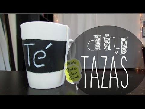 DIY - DECORA TUS TAZAS!