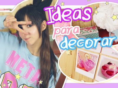 Ideas para decorar tu cuarto, Cositas de LazyCat & SORTEO ☆ . Sally Winther