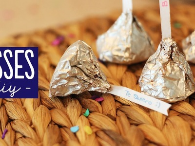 Kisses caseros - trufas de chocolate [receta]