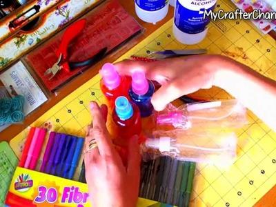 MCC #016 - Alcohol Inks caseras en spray