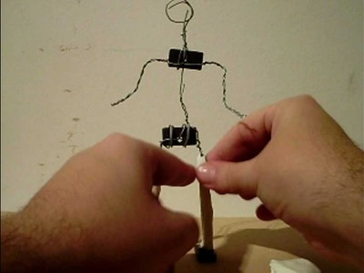 Muñeco de Alambre Stop Motion - Modelar Plastilina