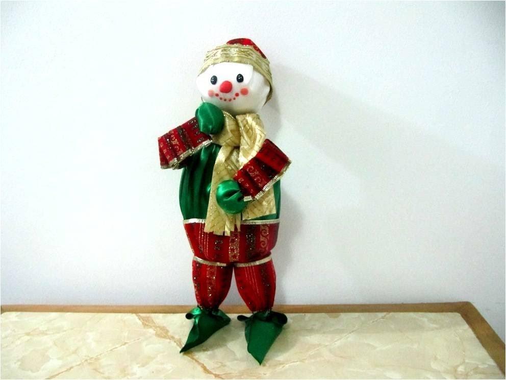 Muñeco  de nieve Frosty  en cintas - frosty Christmas in bows