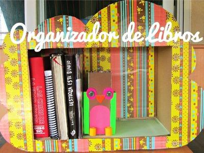 Organizador de Libros (Manualidad 123)
