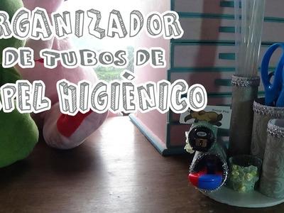 Organizador de tubos de papel higiénico - Candy Bu