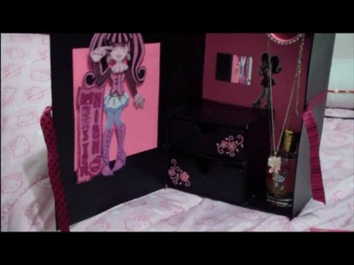 ORGANIZADOR PARA NIÑAS - MONSTER HIGH por Fantasticazul