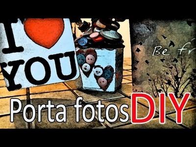 San valentin.regalo original+ porta fotos ♥. original frame