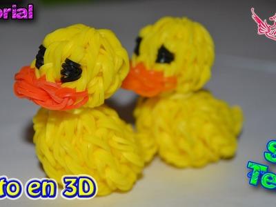 ♥ Tutorial: Pato en 3D (sin telar) ♥