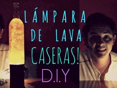 #27 LÁMPARA DE LAVA CASERAS | D.I.Y. ♥