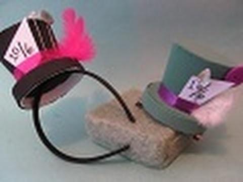 """4.3 MiniSombrero para tu disfraz (Estilo """"SOMBRERERO LOCO"""") - floritere - 2011"""