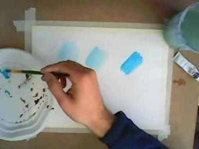 Acuarela paso a paso y técnicas fundamentales: Como Pintar con Acuarelas