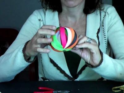 Adorno para fiestas - Bola (Fácil) - Manualidades para todos