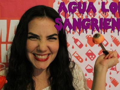 Agua Loka Sangrienta - Bebida para Fiesta de Halloween