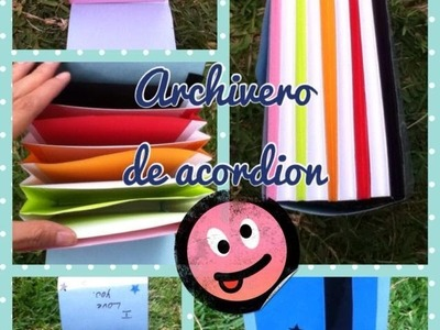 Archivero en acordeon ~ Parte 1
