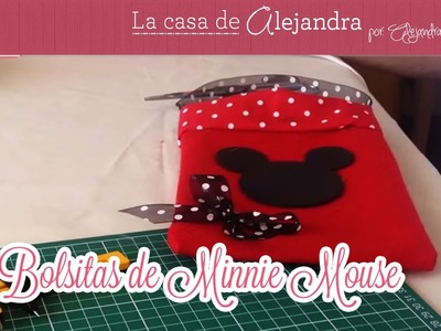 Bolsitas de Minnie Mouse