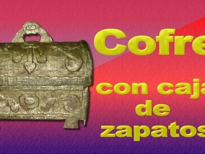 COFRE CON CAJA DE ZAPATOS