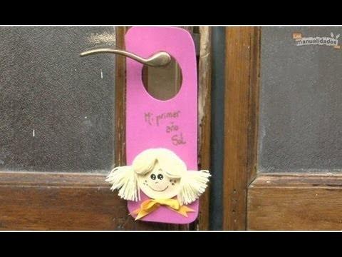Colgantes para puertas infantiles