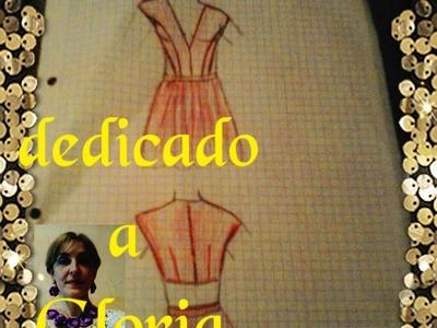 Como cortar y confeccionar un vestido veraniego