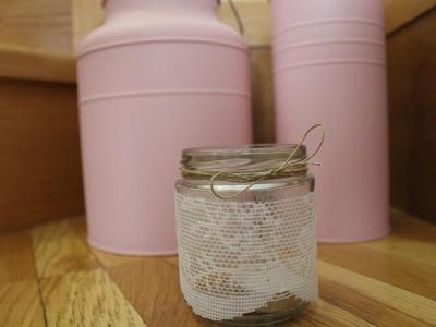 Cómo decorar tarros de cristal | facilisimo.com
