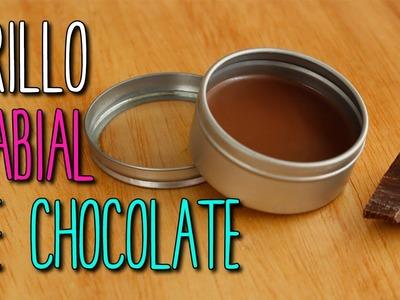 Cómo hacer Bálsamo y Brillo para Labios Casero - ¡Sabor Chocolate! - DIY