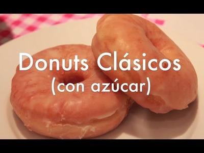 Cómo hacer Donuts de azúcar caseros