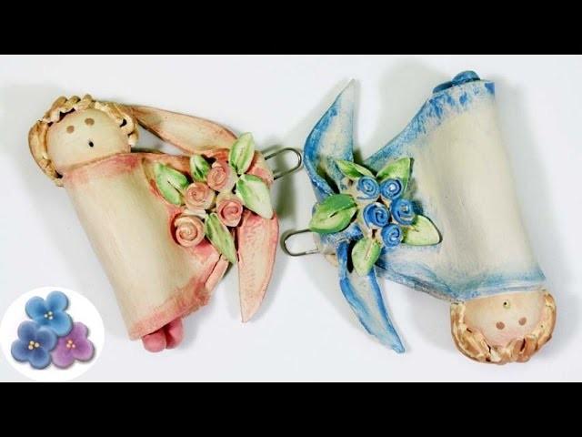 Como Hacer Recuerdos para Baby Shower FACIL Manualidades Recuerdos para Bautizo Pintura Facil