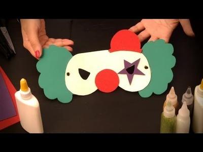 Cómo hacer un antifaz de payaso : Antifaces de personajes para niños