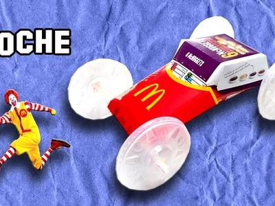 Como Hacer un Coche de McDonald´s | Since McDonald's's Car Does
