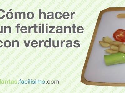 Cómo hacer un fertilizante con verduras | facilisimo.com