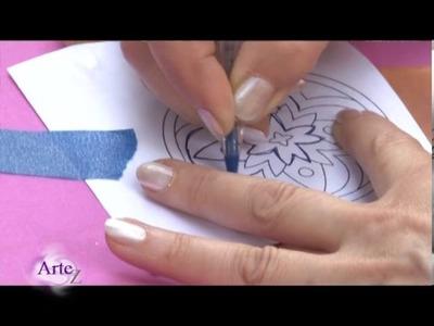 Cómo hacer un mandala con cuero