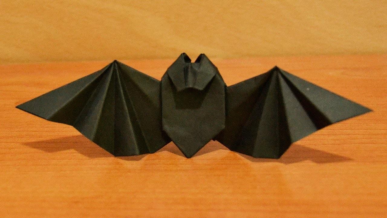 Cómo hacer un murciélago de papel