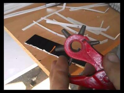 Cómo hacer un peine para un telar, (3)