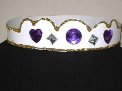Como hacer una corona o tiara para su princesa