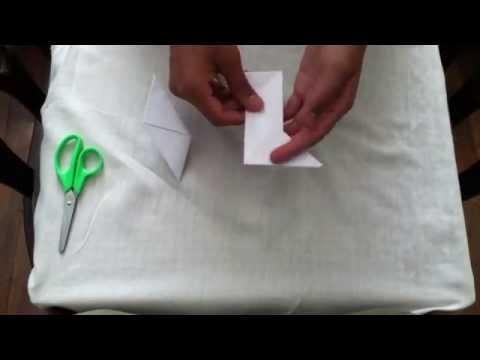 Cómo hacer una estrella de papel  con origami - figuras con origami