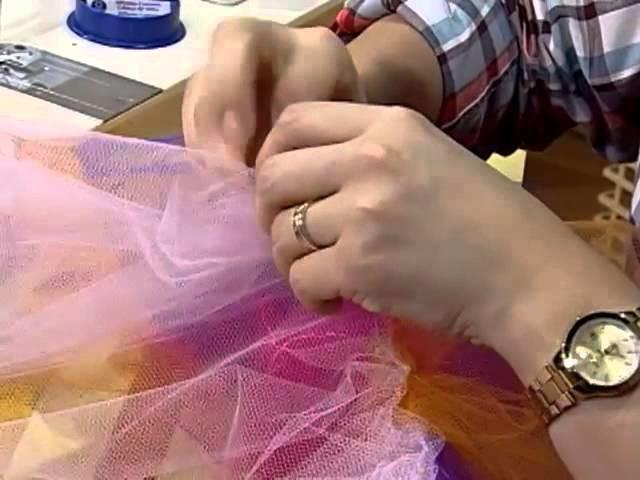 Como hacer una faldita de tull para niñas