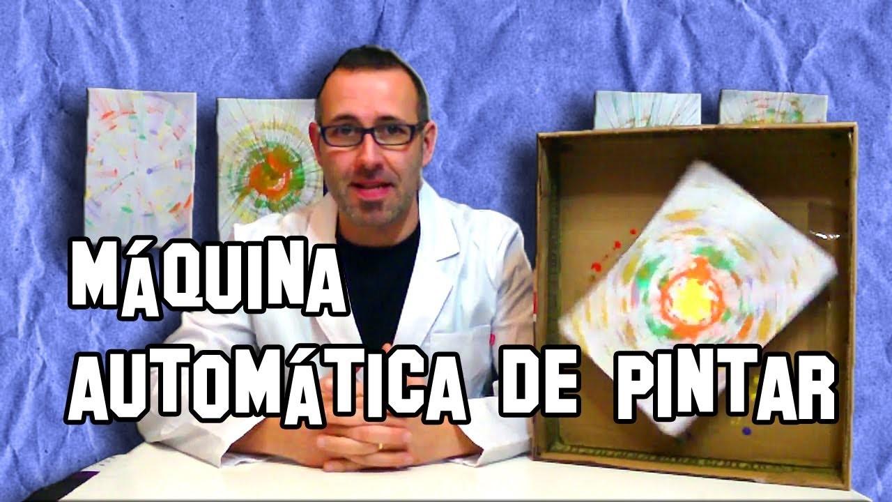 Como Hacer una Máquina Automática de Pintar | Making an automatic coater