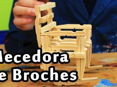 Cómo hacer una Mecedora de Broches