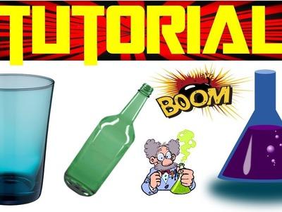 Como Hacer Vasos de Cristal | Experimentos Caseros
