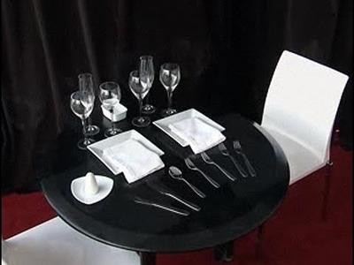 Cómo poner la mesa para una cena