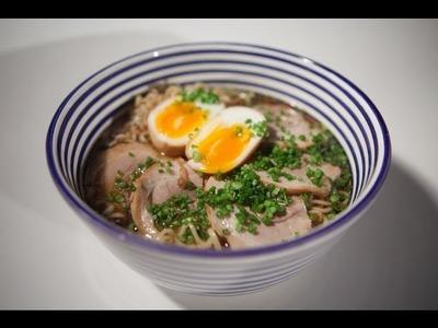 Como preparar Shoyu Ramen. Recetas de cocina japonesa
