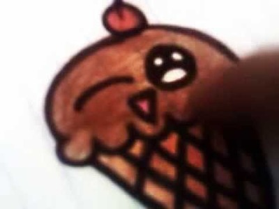 Como se dibuja un helado --_--