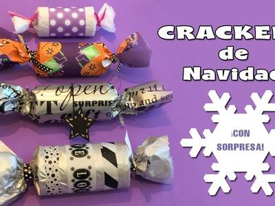 Crackers de navidad: Manualidades de reciclaje